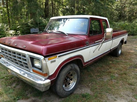 Everything original 1979 Ford F 250 Extended Cab vintage truck for sale