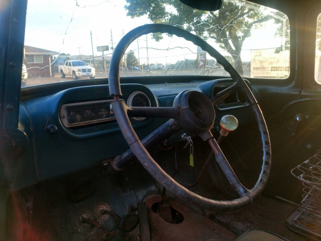 extra parts 1956 Dodge Town Panel Truck vintage truck