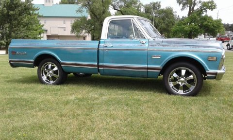 low miles 1969 GMC 1500 Sierra Grande vintage truck for sale