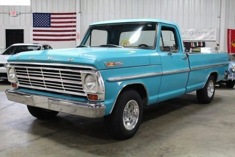 mostly original 1968 Ford F 100 vintage truck for sale
