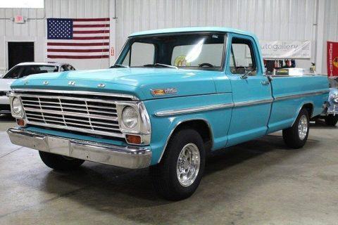 mostly original 1968 Ford F 100 vintage truck for sale