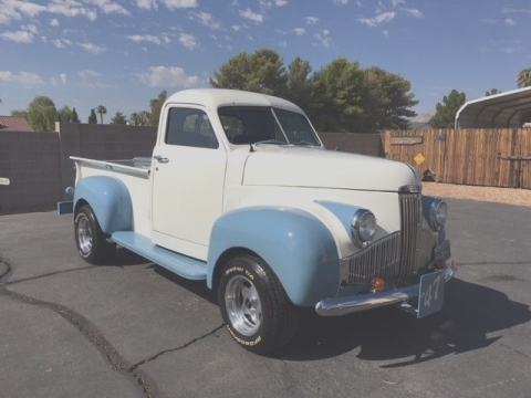new parts 1947 Studebaker M5 vintage truck for sale