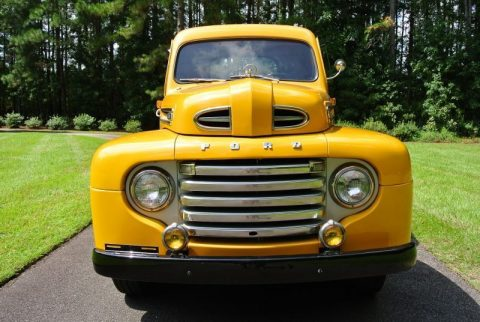 older restoration 1949 Ford F1 Pickup vintage truck for sale