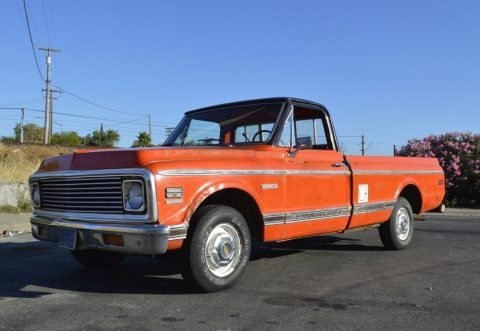 original 1972 Chevrolet C 10 CHEYENNE vintage truck for sale