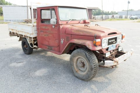 patina 1979 Toyota Land Cruiser Pick Up vintage pickup for sale