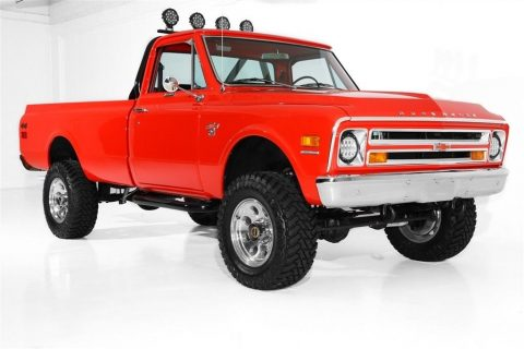 restored 1968 Chevrolet Pickup K20 vintage truck for sale