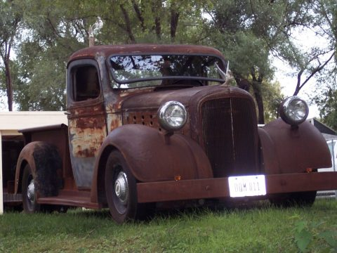rusty 1938 Chevrolet Pickup vintage pickup for sale