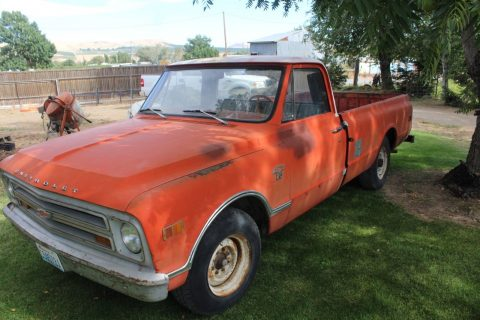 Very straight 1968 Chevrolet Pickup 3/4 Ton vintage for sale
