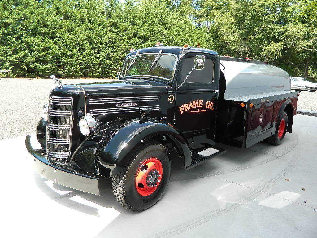 amazing 1948 Mack EF oil truck vintage