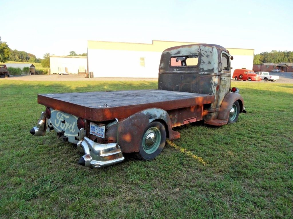 Custom 1941 Ford Cabover Vintage Truck For Sale 1949 Coe