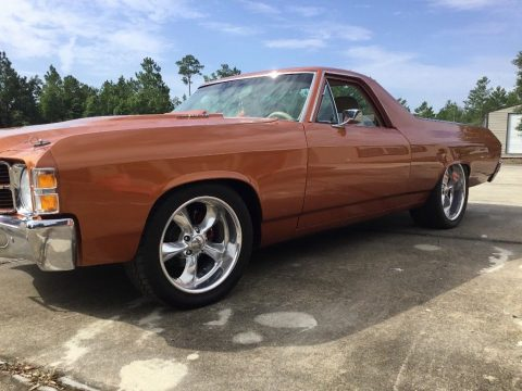 custom 1971 Chevrolet El Camino vintage pickup for sale