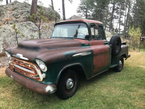 drives great 1957 Chevrolet Pickups vintage truck for sale