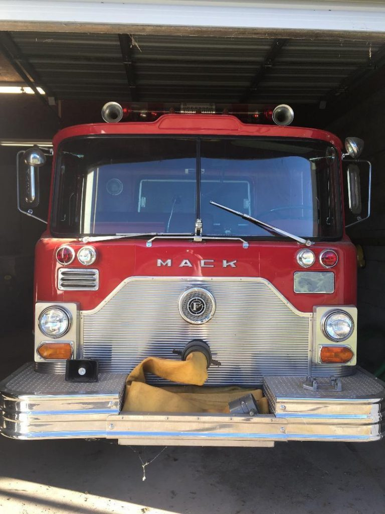 great shape 1969 Mack Fire Truck vintage