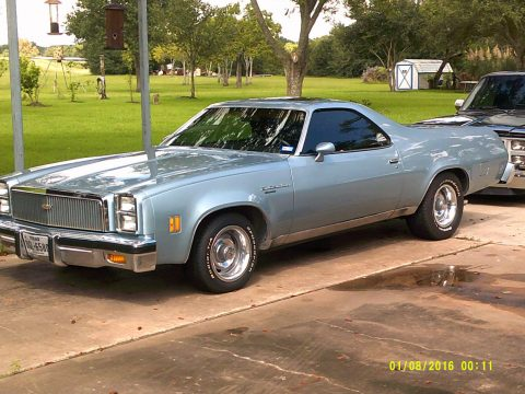 little rust 1977 Chevrolet El Camino Classic vintage for sale