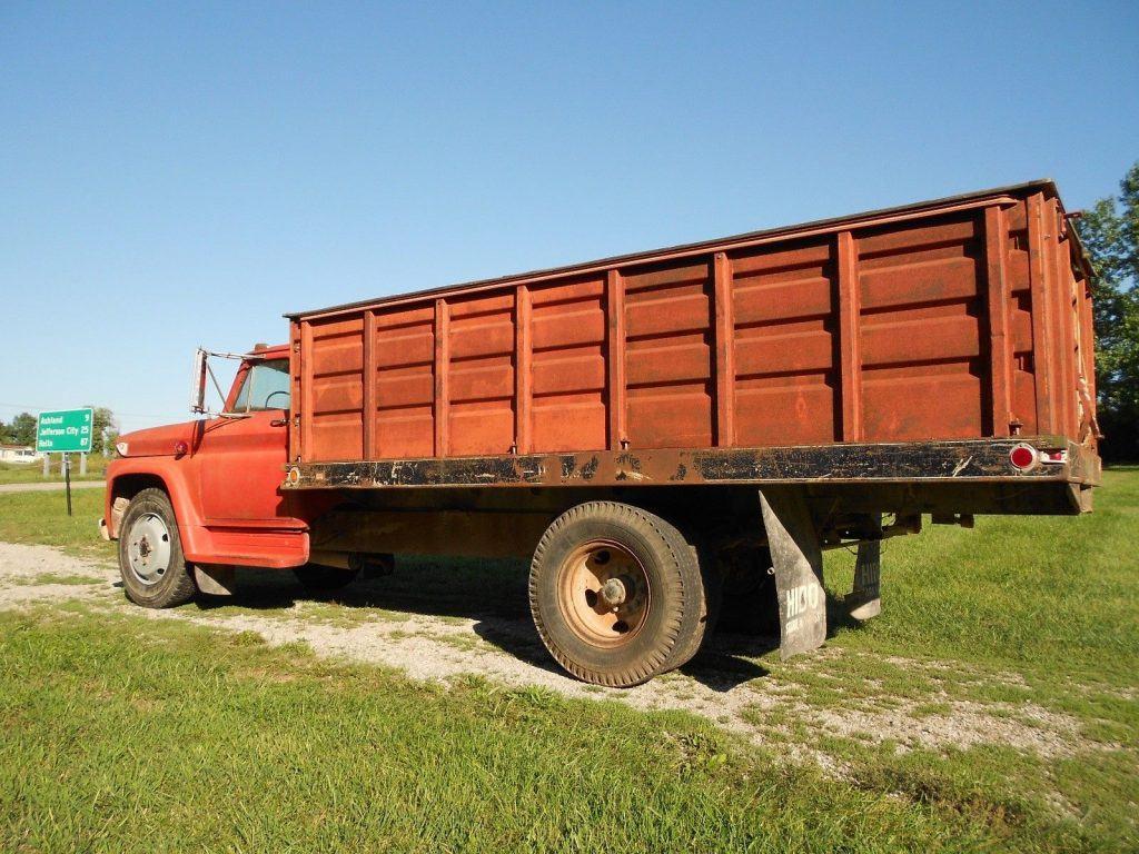 low miles 1966 GMC C60 dump truck vintage