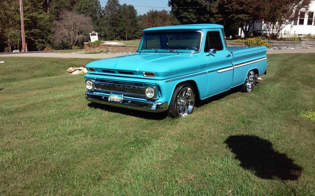 many upgrades 1966 Chevrolet C 10 vintage pickup