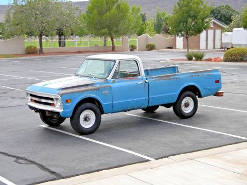 nice patina 1968 Chevrolet Pickups K20 3/4 Ton 4×4 Truck vintage for sale