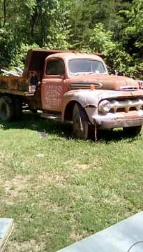 original shape 1952 Ford dump vintage truck for sale