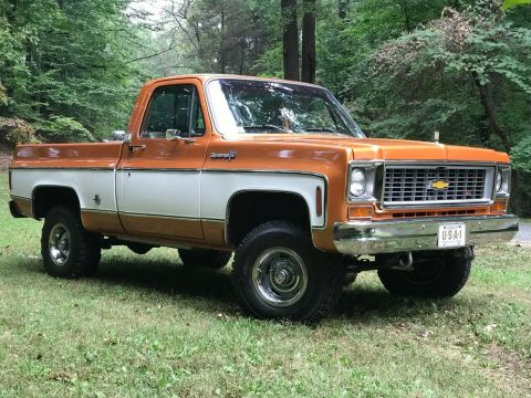 restomod 1973 Chevrolet C/K Pickup 1500 Cheyenne Super vintage for sale