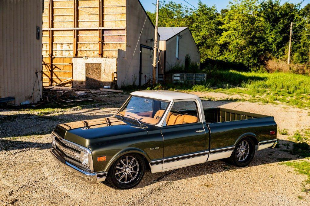 restored 1969 Chevrolet C 10 pickup vintage