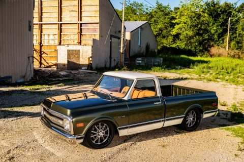 restored 1969 Chevrolet C 10 pickup vintage for sale