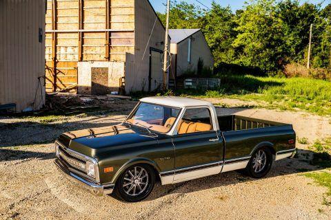 restored 1969 Chevrolet C 10 pickup vintage for sale