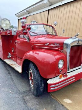 storage gem 1955 Mack B85 Fire Truck vintage for sale