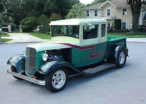 customized 1933 Ford 5 Window Pickup vintage for sale