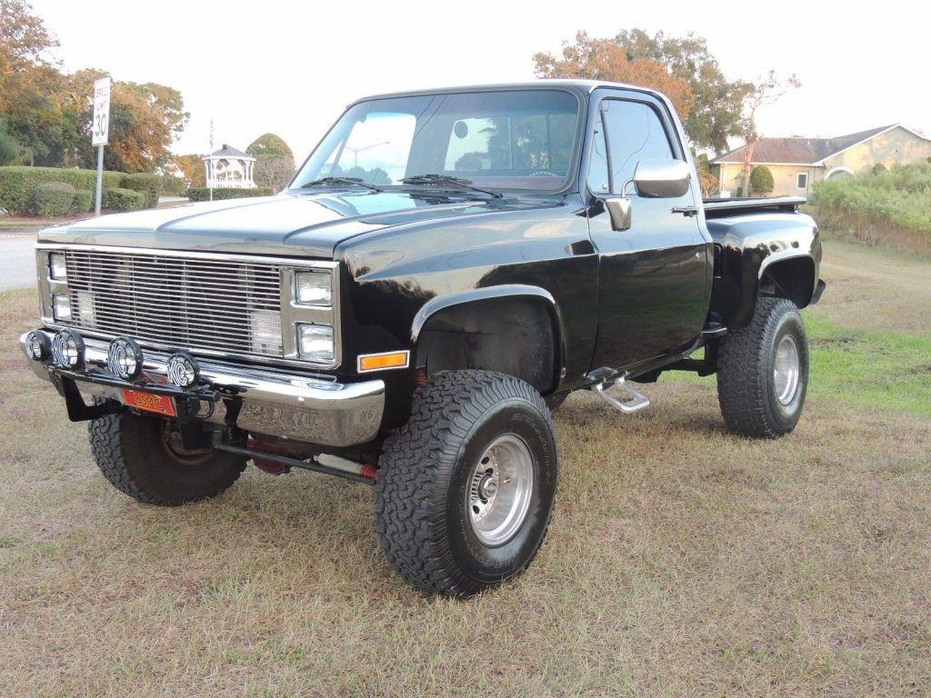 freshly redone 1987 Chevrolet Pickup Scottsdale vintage