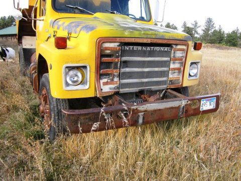 great running 1980 International Harvester Dumptruck vintage for sale