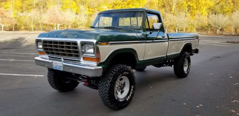 lifted 1979 Ford F 250 Ranger vintage pickup for sale