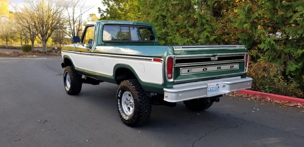 lifted 1979 Ford F 250 Ranger vintage pickup