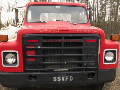 low miles 1980 International 2 ton Stake bed vintage truck for sale