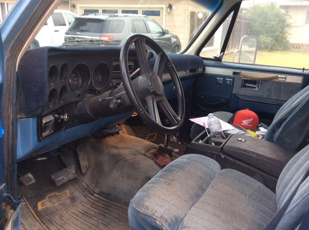 needs new paint 1987 Chevrolet Silverado 3500 vintage
