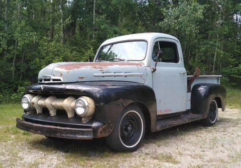 nice patina 1952 Ford Pickups M100 vintage for sale