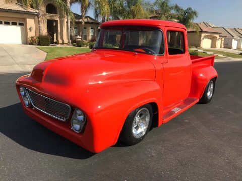 nicely modified 1956 Ford F 100 Custom vintage truck for sale