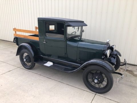 restored 1928 Ford Model A vintage pickup for sale