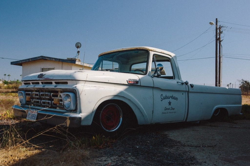 all new powertrain 1964 Ford F 100 pickup custom vintage