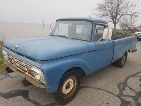 barn find 1966 Ford F 250 Custom vintage for sale