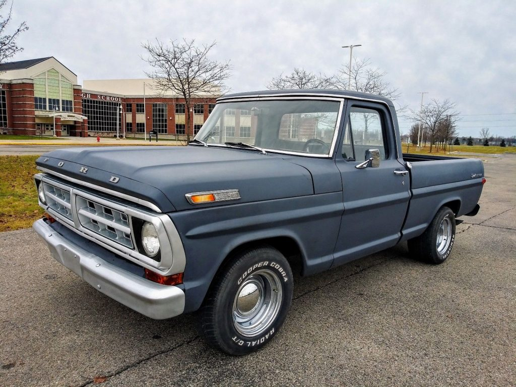 BIG BLOCK 1970 Ford F 100 Custom pickup vintage