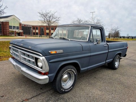 BIG BLOCK 1970 Ford F 100 Custom pickup vintage for sale