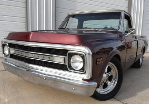 custom fuel injected 1969 Chevrolet C 10 vintage for sale