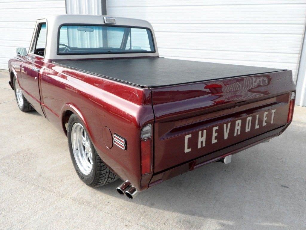 custom fuel injected 1969 Chevrolet C 10 vintage