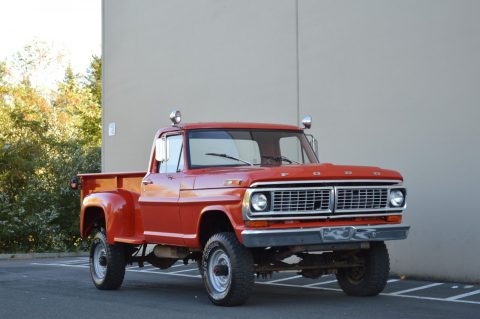 custom lifted 1970 Ford F 250 vintage pickup for sale