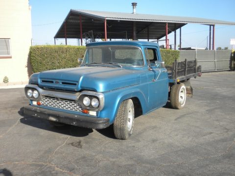 older restoration 1960 Ford F 100 pickup vintage for sale