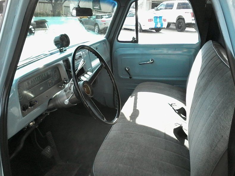 rebuilt chassis 1966 Chevrolet C 10 vintage pickup
