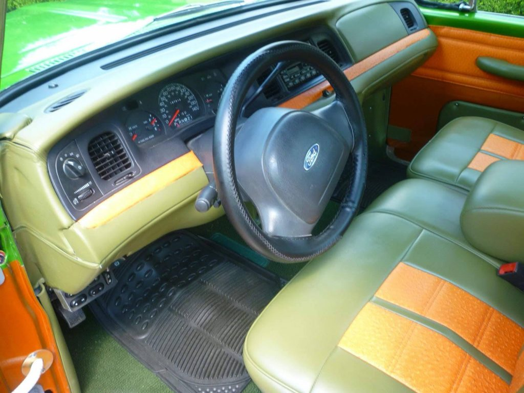 Restomod 1964 Ford Police Interceptor Pickup vintage