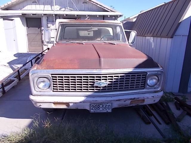 rust free 1971 Chevrolet C 10 PIckup vintage