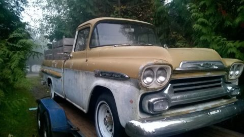 solid 1959 Chevrolet Pickup vintage for sale