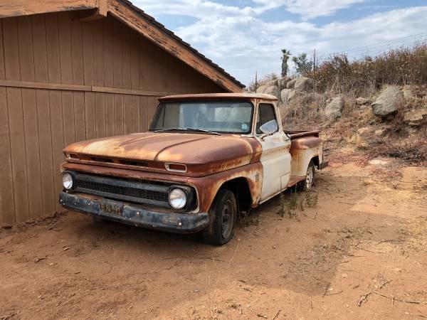 solid 1964 Chevrolet C 10 pickup vintage